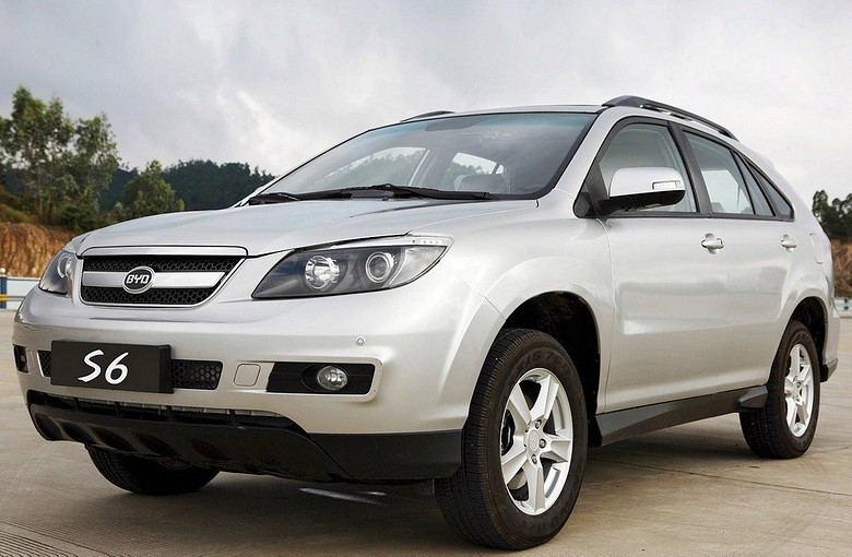 BYD  S6  (Бид  S6)  (2011 –  2017)