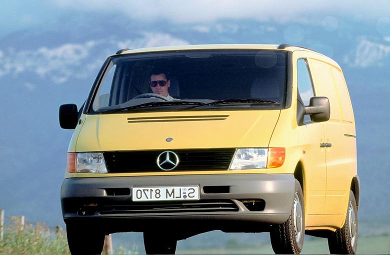 фото мерседес вито 1997